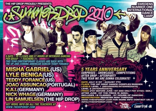 Summerdrop 2010 Sweden