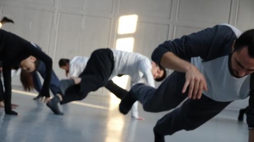 Teaching Beijing Dance Academy China
