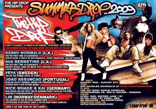 Summerdrop 2009 Sweden
